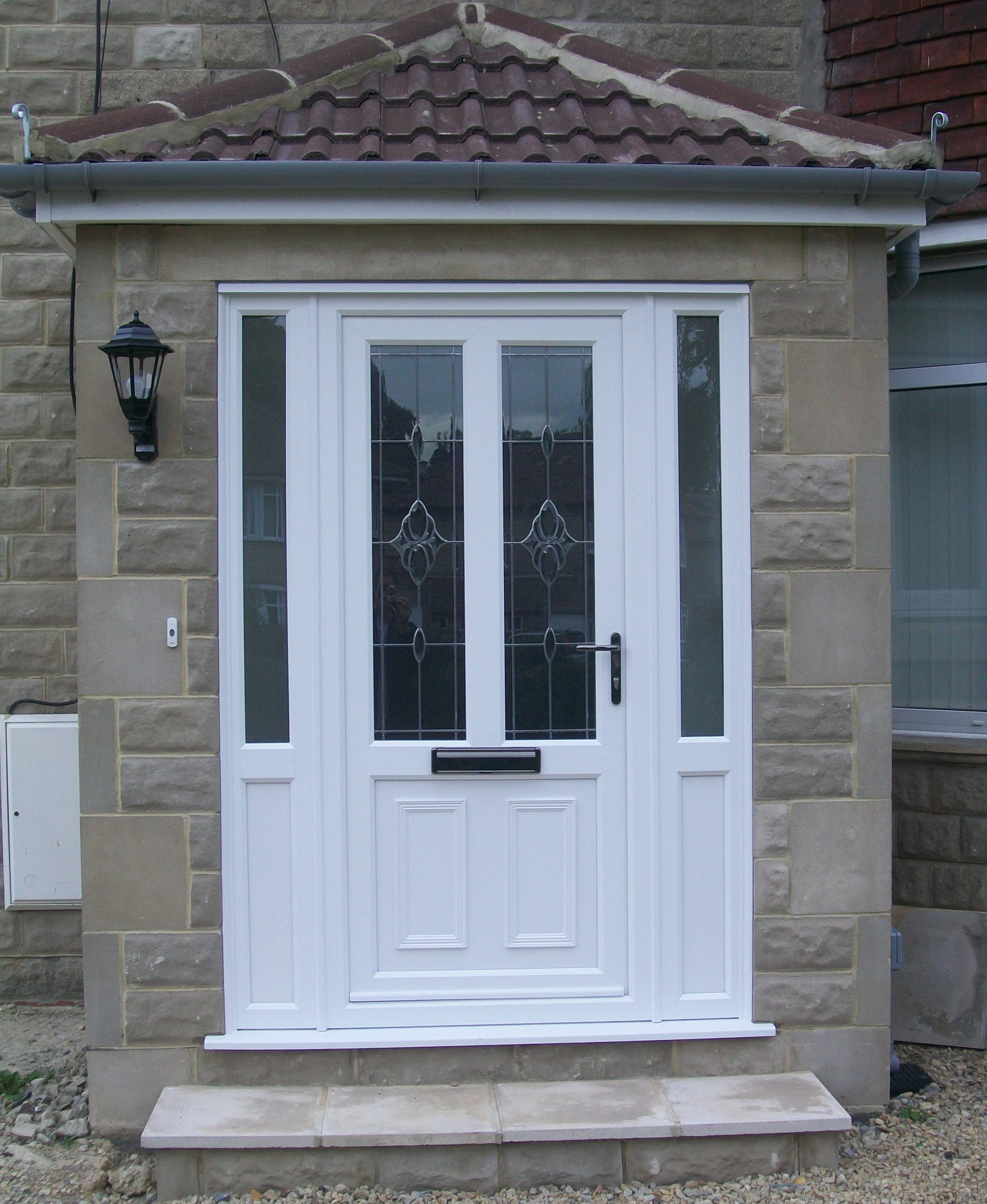 L F Replacement Windows & Doors | Doors Gallery Composite Front Doors With Side Panels Uk on